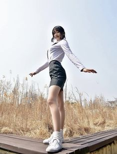 愼 ☼ ριητεrεsτ policies respected.( *`ω´) If you don't like what you see❤, please be kind and just move along. School Uniform Girls, Girls Uniforms, Ulzzang Fashion, Ulzzang Girl, Student Fashion, Girl Fashion, Japan Model, School Looks, Cute Korean