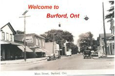 Welcome to things to do in Burford Ontario Canada. Small town living at its finest www.kimbailey.ca #kimbaileybrown #realtor #home #smalltown