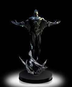 Black Bolt Statue