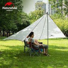 Naturehike Sun Shelter Waterproof Awning Canopy Tent Beach Tent Beach Shade Tarp Pergola C&ing Sunshade Anti & Outdoor Sun Shading Tentorial Shade-Shed Canopy Anti-UV Beach Tent ...