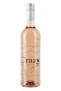 <p>Drie speciaal geselecteerde druivensoorten (Grenache 50%, Cinsault 40% en Syrah 10%) voor deze licht zalmroze verfrissende rosé. De crazy tropez rosé heeft een frisse en aromatische neus met tonen van citrus en exotisch fruit. De smaak is fruitig met een frisse afdronk.</p>