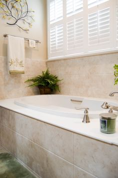 This Tile Goes Well With Green To Make You Feel Closer Nature Check Out More Bathroom Remodels At Re Bath Of The Triangle Or Triad