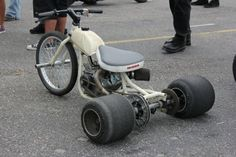 Not sure what to call this, a mini trike?