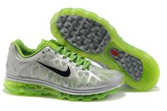 best sneakers b3473 56ac5 Buy New Mens Nike Air Max 2011 Silver Green Black Sneakers Your Best Choice