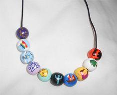 percy jackson bead necklace :)