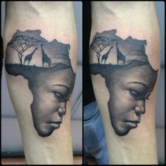 "Pol tattoo on Twitter: ""Mama África <3...tattoo de la tarde ..."