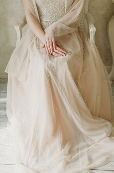 ...swooning over the beading on this dress...