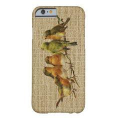 Vintage Birds Phone Case