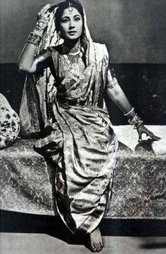 the beautiful Meena Kumari