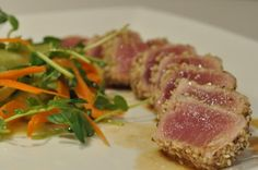 The Recipe Diva invites you to try this Tuna Tataki with Citrus Ponzu recipe and hundreds more recipes, reviews, and cooking tips from therecipediva.com.