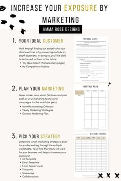 Business Plan Template Discover Increase Your Exposure by Marketing Ultimate Business Planner 253 Printable Pages Plan Marketing, Small Business Marketing, Facebook Marketing, Business Branding, Content Marketing, Social Media Marketing, Marketing Strategies, Etsy Business, Digital Marketing
