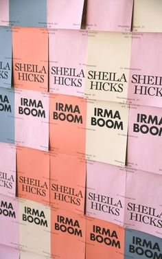 Sheila Hicks & Irma Boom in Conversation – Little and Often