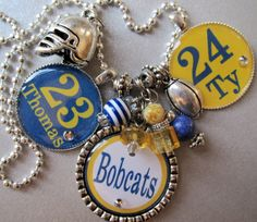 Sports Mom  Football and Cheer Mom OR Grandma Double by buttonit, $30.00