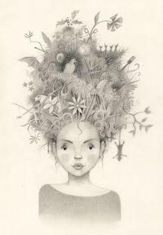 birdnest hair