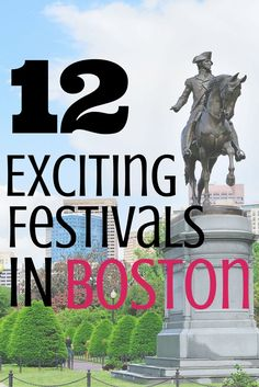 There is something fun to do in Boston all year! Here are 12 Exciting Festivals-one for each month.