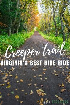 The Virginia Creeper Trail is a scenic bike ride from Whitetop to Abingdon, passing through Damascus halfway (a good stopping point option). Damascus Virginia, Virginia Creeper, Virginia Is For Lovers, Bike Path, Vacation Trips, Vacations, Creepers, Outdoor Travel, Travel Usa