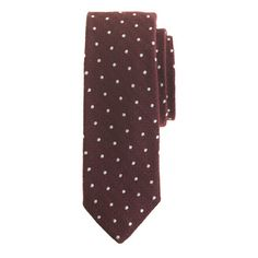 dress him up for the holidays with this wool silk tie