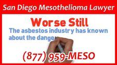 San Diego Mesothelioma Lawyer Call Today!!! (877) 959-MESO Mesothelioma ...
