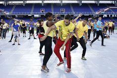 Siguen los preparativos para la ceremonia inaugural de los Juegos Mundiales Cali 2013 | EL PAIS