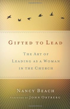 Gifted to Lead: The Art of Leading As a Woman in the Church by Nancy Beach  As a woman gifted with leadership, often times I find myself deferring to the men around me. Not because I am led by the Holy Spirit to do so but simply because they are male. However, after reading this book, I was reminded that gifts are not gender-specific. Gifts are given to serve the whole body of Christ. I recommend this book to women in leadership.