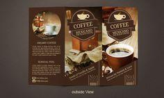 12 Refreshing Coffee Shop Brochure Designs | 12 Refreshing Coffee Shop  Brochure Designs | Pinterest | Brochures