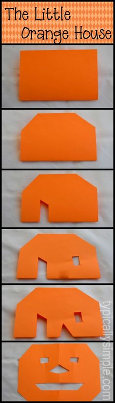 The Little Orange House story that students can follow and interact together.