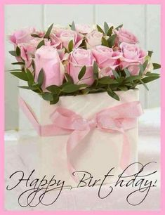 Happy Birthday to you – - Geburtstag Happy Birthday Flowers Wishes, Happy Birthday Bouquet, Happy Birthday Greetings Friends, Free Happy Birthday Cards, Happy Birthday Celebration, Birthday Blessings, Happy Birthday Pictures, Birthday Wishes Cards, Happy Birthday Messages