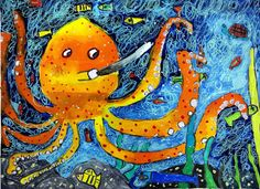 Cool octopus! (via Flickr)