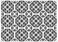 imaginesque.blogspot.com, Blackwork Fill Pattern