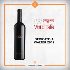 """Citrus Aroma Silhouette Woods with great freshness and originality. Among the best taste."" So says Gambero Rosso, giving Tre Bicchieri (3 glasses) to Poggio al Tesoro Dedicato a Walter 2012."