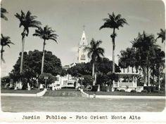 Praça da Matriz Monte Alto / SP