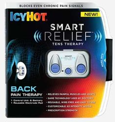 HOY 3:00 pm GRATIS IcyHot Smart Relief Tens Therapy Producto!