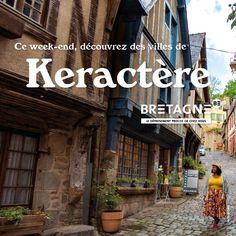 Découvrez toutes les appropriations des acteurs du tourisme bretons dans le cadre de la campagne #DépaysezVousenBretagne Création : Comité Régionale du Tourisme Bretagne Dinan, Week End, Rural Area, Actor, Brittany, Tourism