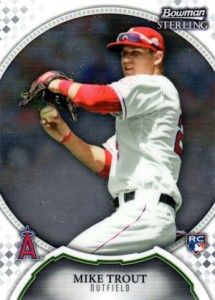 Mike Trout Cards - 2011 Bowman Sterling Mike Trout