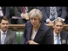 British PM Theresa May SMACKS DOWN anti-Trump socialist in Parliament | BizPac Review