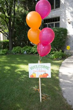 Pumpkin Birthday Welcome Sign birthday halloween party Pumpkin Patch Birthday, Pumpkin Patch Party, Pumpkin First Birthday, Girl First Birthday, First Birthday Parties, Birthday Ideas, Pumpkin Patches, Birthday Photos, Birthday Cakes