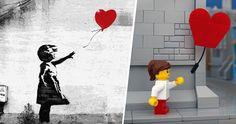 Bricksy : les célèbres oeuvres de Banksy version Lego
