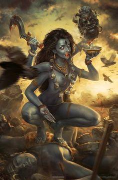 Kali and the Age of Kali Yuga