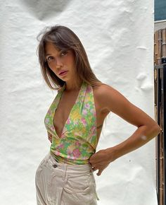 Retro Outfits, Mode Outfits, Cute Casual Outfits, Fashion Outfits, Spring Summer Fashion, Spring Outfits, Summer Lookbook, Looks Style, Summer Trends
