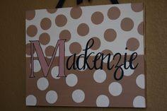 cute canvas idea
