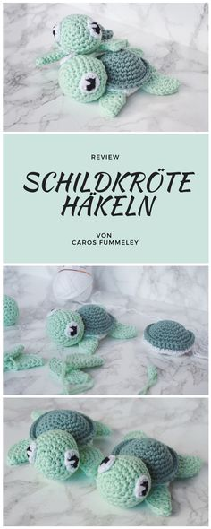 Amigurumi Schildkröte häkeln – Caros Fummeley –Thanks for this post.Amigurumi crochet pattern for a turtle - instructions from petitbonnet, tested by carosfummeley Crochet Amigurumi, Amigurumi Doll, Crochet Toys, Free Crochet, Crochet Teddy, Baby Knitting Patterns, Crochet Blanket Patterns, Knitting Toys, Afghan Patterns