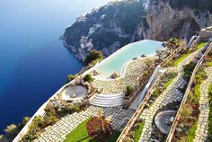This place used to be a 17-th century Monastery. Now it is one of the best hotels in Europe. Monastero Santa Rosa Hotel & SPA, Amalfi, Italy. #breathtaking #santarosa #airconcierge