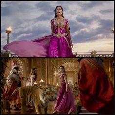 🕌 Jasmine with her Baba! Disney Nerd, Arte Disney, Disney Magic, Disney Pixar, Disney Live, Disney Marvel, Disney Jasmine, Aladdin And Jasmine, Disney Films