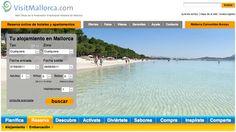 Web de VisitMallorca.com de la Federación Hotelera de Mallorca