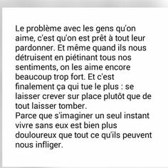 Image uploaded by Snoupiix. Find images and videos about quotes, couple and sad on We Heart It - the app to get lost in what you love. Mood Quotes, Life Quotes, Love One Another Quotes, Dark Quotes, French Quotes, Magic Words, My Mood, Some Words, Beautiful Words
