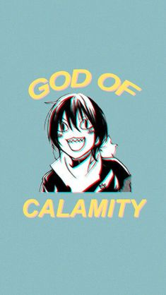 Noragami Yato God of Calamity Sticker by koolpingu -You can find Noragami and more on our website.Noragami Yato God of Calamity Sticker by koolpingu - Anime Noragami, Noragami Bishamon, Noragami Cosplay, Animes Wallpapers, Cute Wallpapers, Anime Wallpapers Iphone, All Anime, Anime Girls, Wallpaper Aesthetic