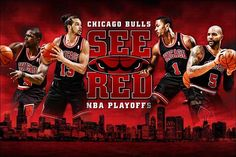 Chicago Bulls See Red in NBA Playoffs