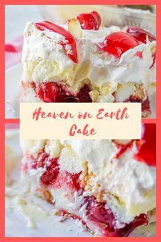 Earth Cake, Breakfast Sandwich Recipes, Eat Breakfast, Cake Recipes, Dessert Recipes, Delicious Desserts, Yummy Food, 9x13 Baking Dish, Angel Food Cake