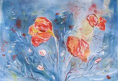 Olga Pavlova.Joy of Creation.: Poppies