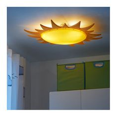 IKEA SMILA SOL ceiling lamp Gives a good general light.